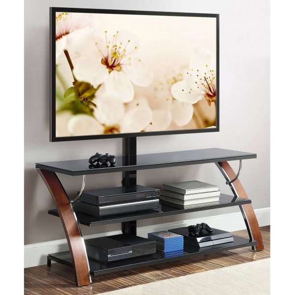 """Whalen Payton 3 In 1 Flat Panel Tv Stand For Tvs Up To 65″ Intended For Stamford Tv Stands For Tvs Up To 65"""" (View 17 of 20)"""