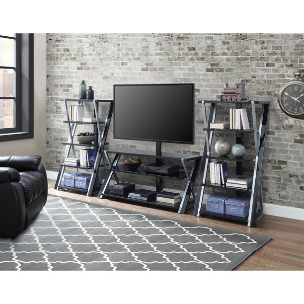 """Whalen Xavier 3 In 1 Tv Stand For Tvs Up To 70"""", With 3 Within Whalen Payton 3 In 1 Flat Panel Tv Stands With Multiple Finishes (View 15 of 20)"""