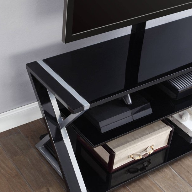 """Whalen Xavier 3 In 1 Tv Stand For Tvs Up To 70"""", With 3 Within Whalen Payton 3 In 1 Flat Panel Tv Stands With Multiple Finishes (View 2 of 20)"""