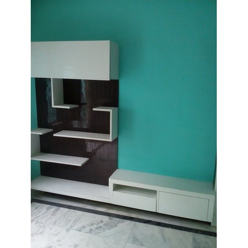 White Wall Mounted Wall Mount Tv Cabinet, Rs 1500 /square Within Priya Tv Stands (View 11 of 20)