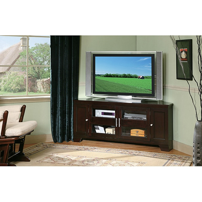 """William's Home Furnishing 60 Inch Corner Tv Stand Within Corner Tv Stands For Tvs Up To 60"""" (View 17 of 20)"""