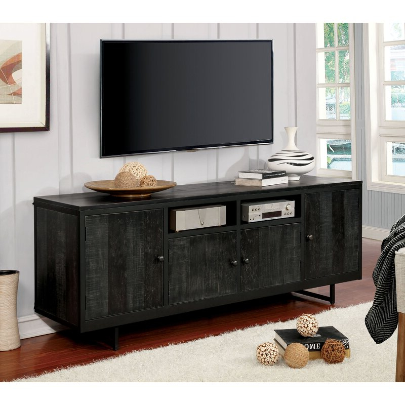 """Williston Forge Katia Tv Stand For Tvs Up To 78""""   Wayfair Inside Tenley Tv Stands For Tvs Up To 78"""" (View 12 of 20)"""