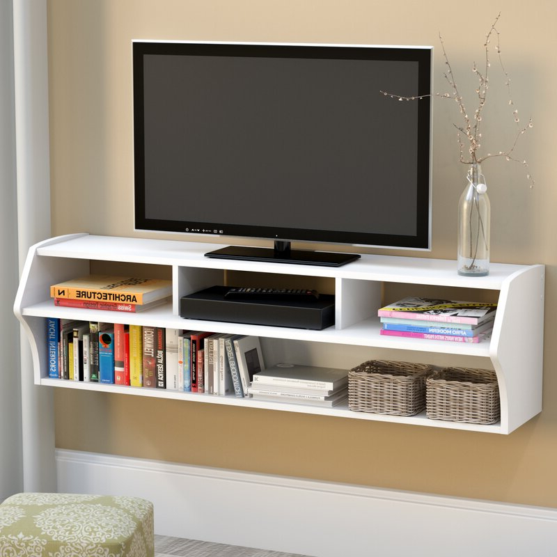 """Winston Porter Carder Floating Tv Stand For Tvs Up To 65 Throughout Aaliyah Floating Tv Stands For Tvs Up To 50"""" (View 12 of 20)"""