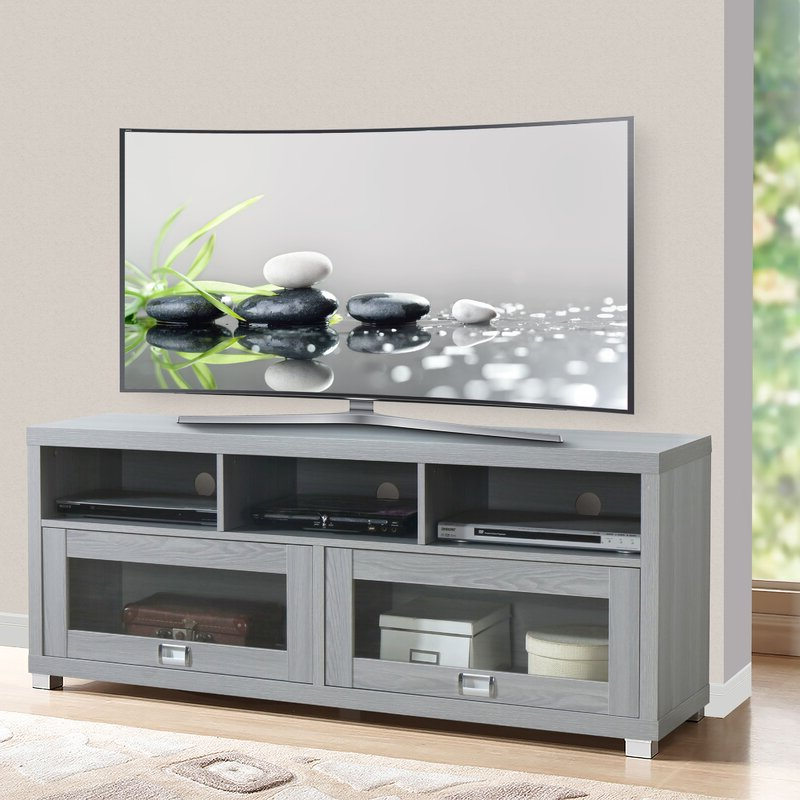 """Winston Porter Mutchler Tv Stand For Tvs Up To 75 Inches Regarding Tv Mount And Tv Stands For Tvs Up To 65"""" (View 17 of 20)"""