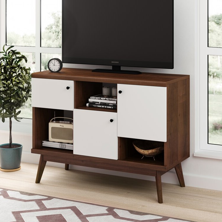 """Wrought Studio Cockfosters Tv Stand For Tvs Up To 43 With Orrville Tv Stands For Tvs Up To 43"""" (View 7 of 20)"""