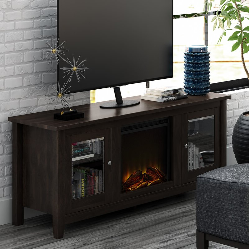 """Zipcode Design™ Kohn Tv Stand For Tvs Up To 65"""" With Inside Calea Tv Stands For Tvs Up To 65"""" (View 10 of 20)"""