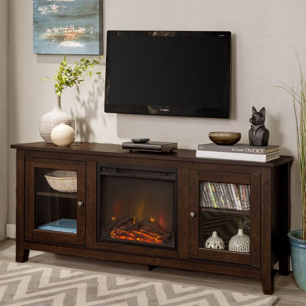 """Zipcode Design™ Kohn Tv Stand For Tvs Up To 65"""" With Throughout Colleen Tv Stands For Tvs Up To 50"""" (View 9 of 20)"""