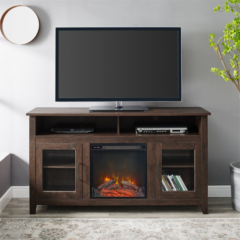"""Zipcode Design Kohn Tv Stand For Tvs Up To 65"""" With Within Neilsen Tv Stands For Tvs Up To 50"""" With Fireplace Included (View 11 of 20)"""