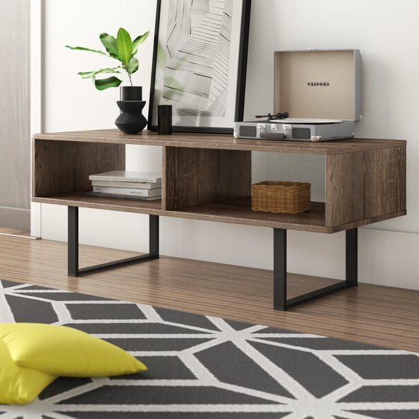 """Zipcode Design™ Senoia Tv Stand For Tvs Up To 43"""" & Reviews With Orrville Tv Stands For Tvs Up To 43"""" (View 3 of 20)"""