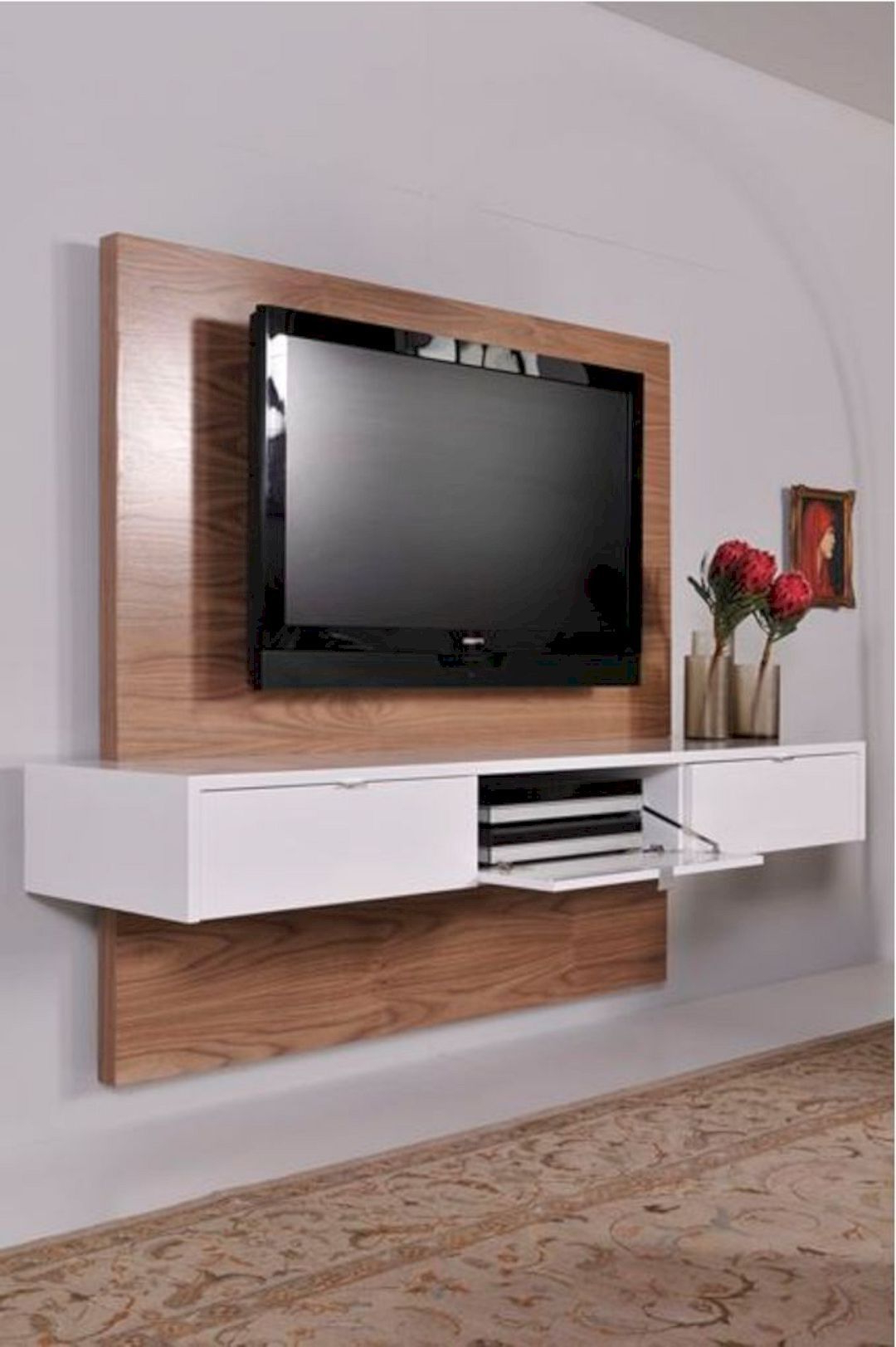 """16 Interior Design Ideas For Led Tv Https://www For Bari 160 Wall Mounted Floating 63"""" Tv Stands (View 17 of 27)"""