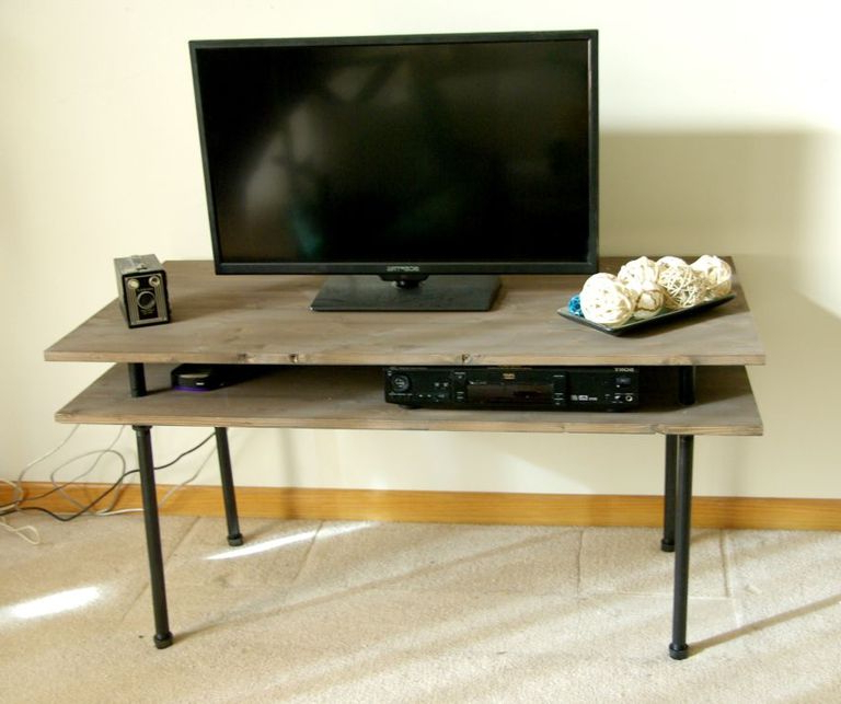 9 Free Tv Stand Plans You Can Diy Right Now Within Covent Tv Stands (View 13 of 16)