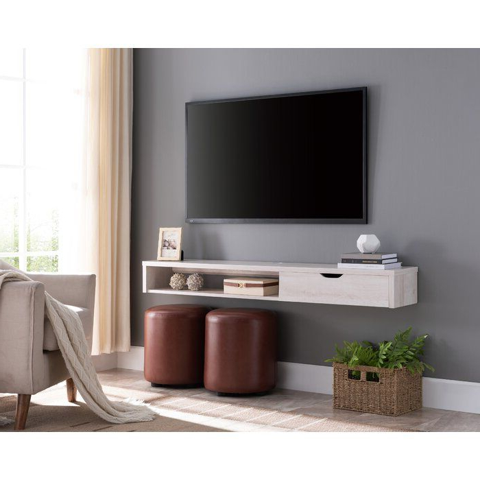 """Few Solid Wood Floating Tv Stand For Tvs Up To 60"""" In 2020 With Regard To Bari 160 Wall Mounted Floating 63"""" Tv Stands (View 16 of 27)"""