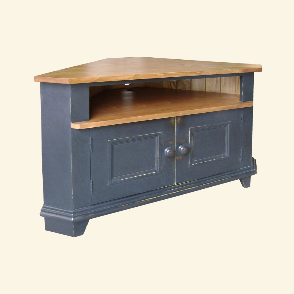 French Country Corner Tv Stand | French Country Living Pertaining To Geometric Corner Fit Glass Door Tv Stands (View 10 of 17)