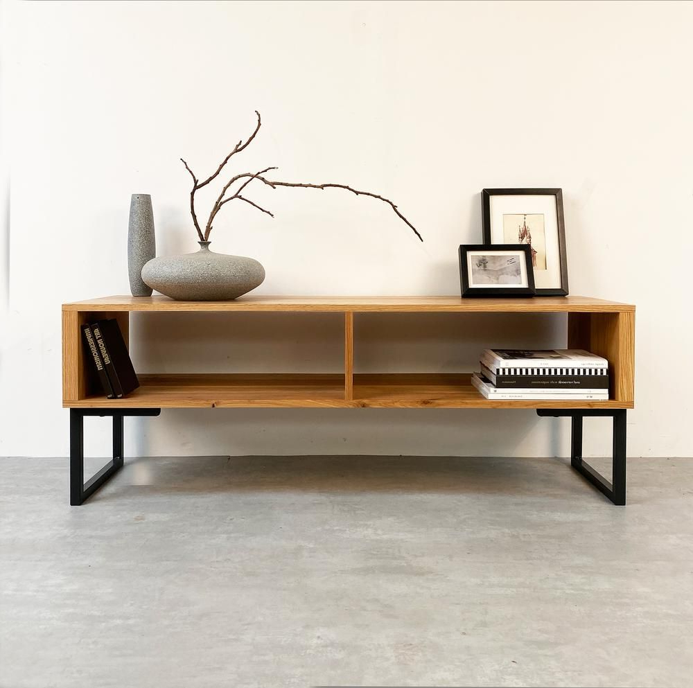 Henley Tv Stand On Minimalist Square Legs   Tv Stand Decor In Better Homes & Gardens Oxford Square Tv Stands With Multiple Finishes (View 11 of 20)