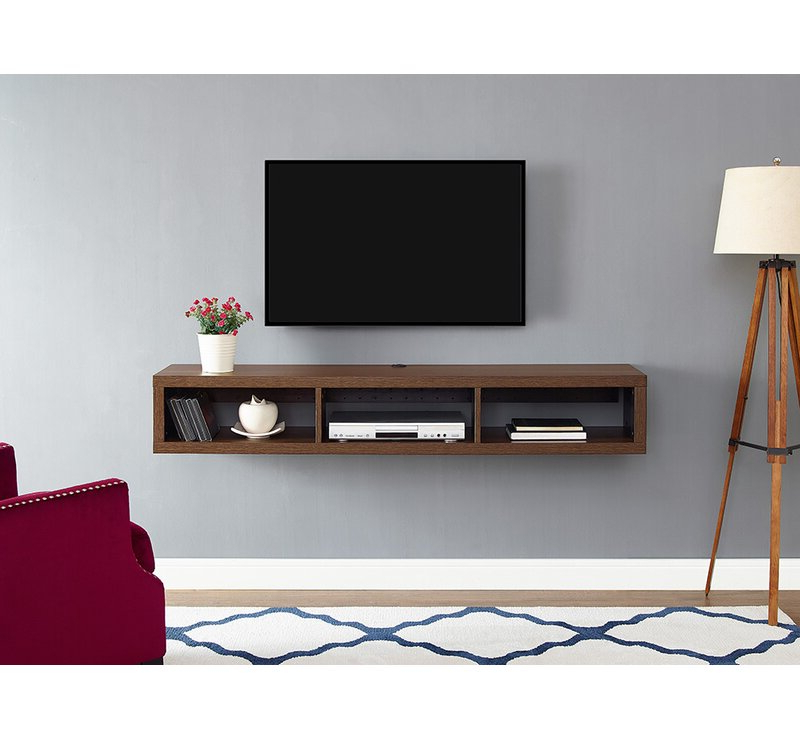 """Orren Ellis Moats Floating Tv Stand For Tvs Up To 78 With Regard To Bari 160 Wall Mounted Floating 63"""" Tv Stands (View 11 of 27)"""