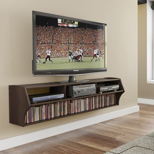 """Overstock: Online Shopping – Bedding, Furniture Throughout Bari 160 Wall Mounted Floating 63"""" Tv Stands (View 8 of 27)"""