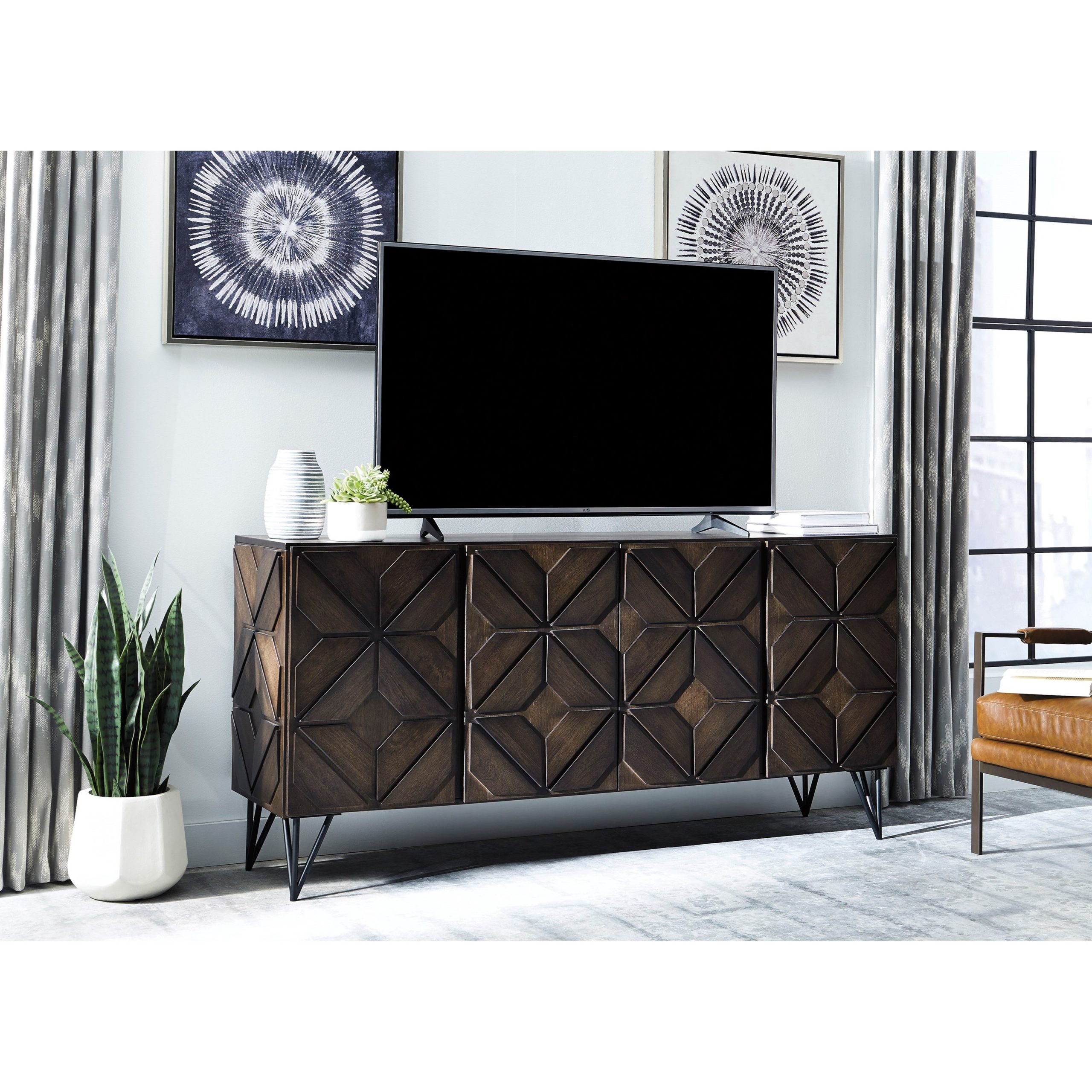 Signature Designashley Chasinfield W648 68 Pertaining To Delta Large Tv Stands (View 1 of 15)