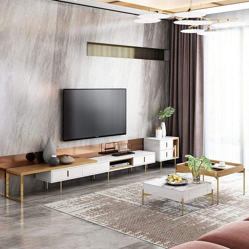 Square Tv Cabinet And Coffee Table   Living Room Tv Regarding Square Tv Stands (View 7 of 20)