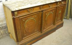 Antique Marble Top Sideboards