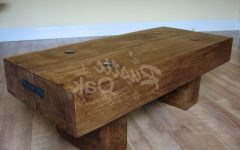 Oak Beam Coffee Tables