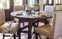 Jaxon Round Extension Dining Tables