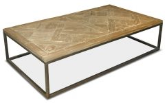 Reclaimed Pine & Iron Coffee Tables