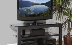 Wood And Glass Tv Stands For Flat Screens