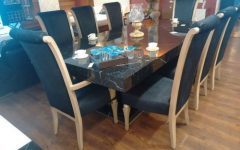 Dining Tables Set For 8