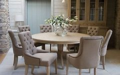8 Seater Round Dining Table And Chairs