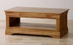 Oak Wood Coffee Tables