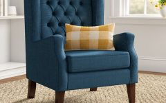 Allis Tufted Polyester Blend Wingback Chairs