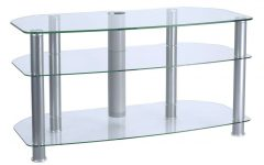 Clear Glass Tv Stands