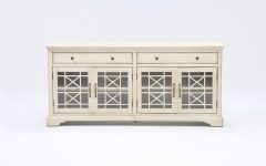 Annabelle Cream 70 Inch Tv Stands