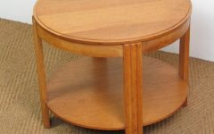 Antiqued Art Deco Coffee Tables
