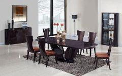 Bale 7 Piece Dining Sets With Dom Side Chairs