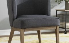 Barnard Polyester Barrel Chairs