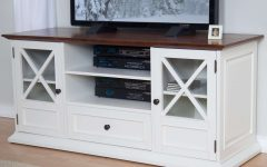 White Wood Tv Cabinets