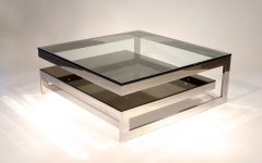 Low Glass Coffee Tables