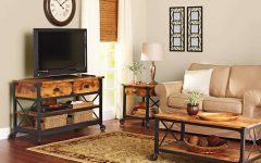 Rustic Coffee Table And Tv Stands
