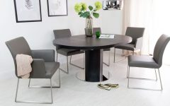 Black Extendable Dining Tables Sets
