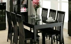 Black Gloss Dining Room Furniture