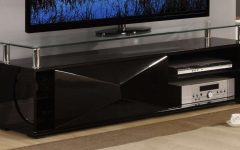 Black Glass Tv Cabinets