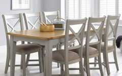 Extending Dining Tables with 6 Chairs