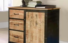Industrial Style 3-Drawer Buffets