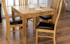 Oak Dining Tables and 4 Chairs