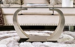 Carmella Satin Plated Coffee Tables