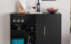 Modern Black Storage Buffets