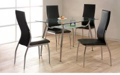 Cheap Glass Dining Tables and 4 Chairs