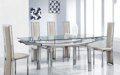 Cheap Glass Dining Tables and 6 Chairs
