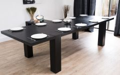 Dining Tables with Large Legs